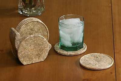 Marble Products International Marble Stone Coaster (Set of 6) WYF078275547536