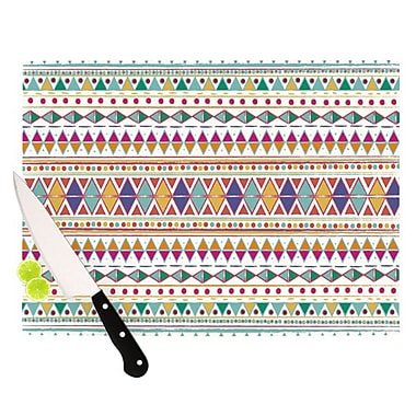 KESS InHouse Native Fiesta Cutting Board; 11.5'' H x 15.75'' W