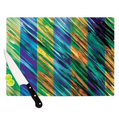 KESS InHouse Set Stripes II Cutting Board; 11.5'' H x 15.75'' W