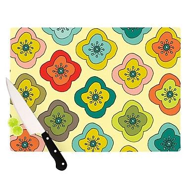 KESS InHouse Forest Bloom Cutting Board; 11.5'' H x 8.25'' W