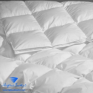 Highland Feather Brittany Heavyweight Down Comforter; California King