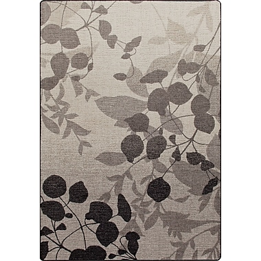 Milliken Mix and Mingle Gray Mist Nature's Silhouette Rug; 7'8'' x 10'9''