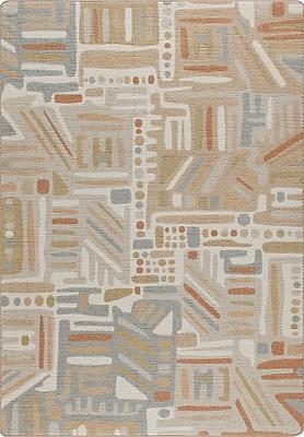 Milliken Mix and Mingle Stone Path Urban Order Rug; Rectangle 7'8'' x 10'9''