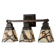 Meyda Tiffany Early Morning Visitors 3 Light Vanity Light