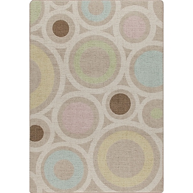 Milliken Mix and Mingle Pastel in Focus Area Rug; 5'4'' x 7'8''