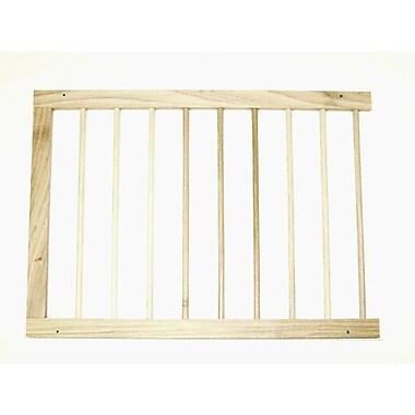 Cardinal Gates Extension for Step Over Gate; Natural