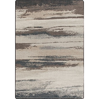 Milliken Mix and Mingle Overcast Blue Cloudbreak Rug; 5'4'' x 7'8''