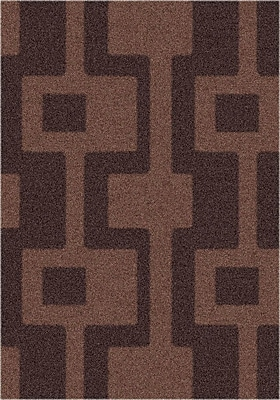 Milliken Modern Times Uptown Dark Chocolate Area Rug; Rectangle 2'1'' x 7'8''