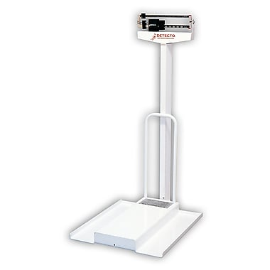 Detecto Mechanical Wheelchair Scale; 308.65 lb x 3.5 oz