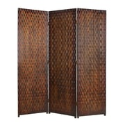 Screen Gems Daryl 72'' x 63'' 3 Panel Room Divider