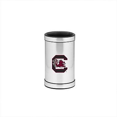 Kraftware NCAA Wine Chiller in Brushed Chrome; USoC
