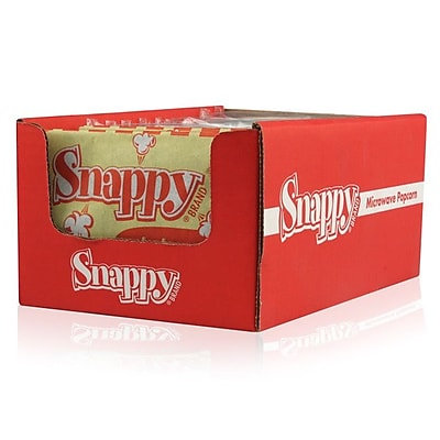 Snappy Popcorn Microwave Popcorn Display (Set of