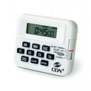 CDN 4-Event Timer and Clock