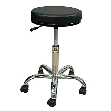 Oakworks Height Adjustable Professional Stool w/ Swivel Seat; Sapphire