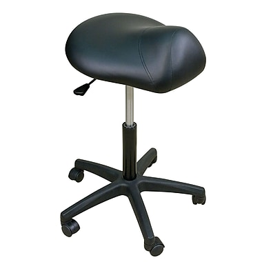 Oakworks Height Adjustable Premium Saddle Stool; Opal