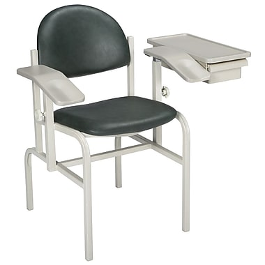 Brewer Blood Drawing Chair; Gunmetal