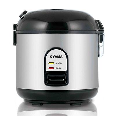 Oyama Rice Cooker, Warmer and Steamer; Black