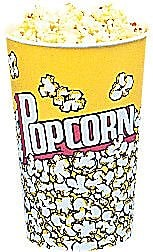 Snappy Popcorn Yellow Popcorn Cups (Set of 25); 24 Oz (50 Count) WYF078275610460
