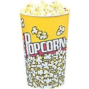 Snappy Popcorn Yellow Popcorn Cups (Set of 25); 24 Oz (50 Count)