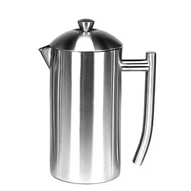 Frieling Brushed Stainless Steel French Press; 23 Oz.