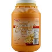 Snappy Popcorn 1 Gallon Coconut Oil; Colored Coconut Oil