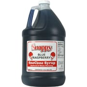 Snappy Popcorn Snow Cone Syrup; Blue Raspberry