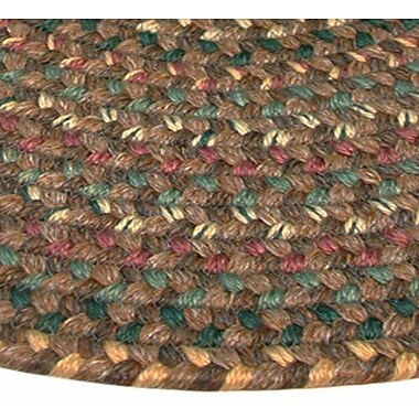 Thorndike Mills Pioneer Valley II Autumn Wheat Octagon Outdoor Rug; Octagon 6'