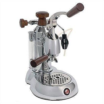La Pavoni Stradavari Espresso Machine; Rosewood