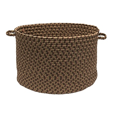 Colonial Mills Tiburon Utility Basket; Spruce Green