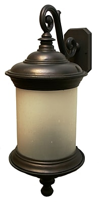 Melissa Tuscany 3-Light Outdoor Wall Lantern; Old Iron