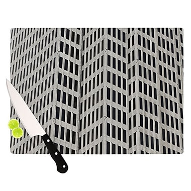KESS InHouse The Grid Cutting Board; 11.5'' H x 15.75'' W