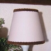 Brandee Danielle 8'' Cotton Empire Lamp Shade; Pink