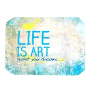 KESS InHouse Life Is Art Placemat