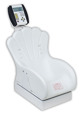 Detecto Digital Baby Scale Tot Weigher w/ Inclined Chair Seat