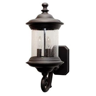 Melissa Tuscany 3-Light Outdoor Sconce; White