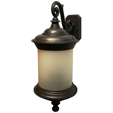 Melissa Tuscany 4-Light Outdoor Wall Lantern; Old Bronze