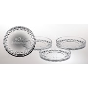 Majestic Crystal 4.25'' Crystal Coaster (Set of 4)