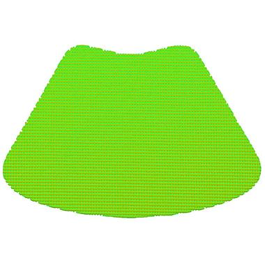 Kraftware Fishnet Wedge Placemat (Set of 12); Lime Green