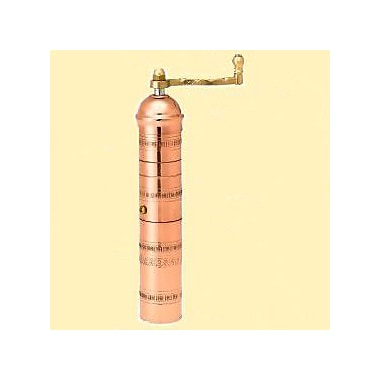 Pepper Mill Imports Traditional Copper Coffee Spice Mill