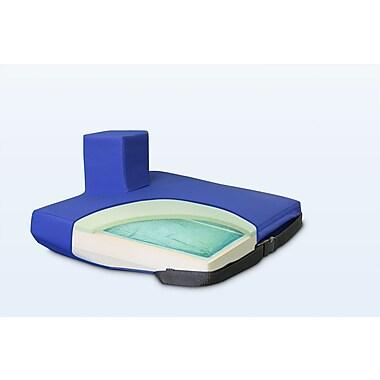 NYOrtho Apex Core Wedge Pommel Gel-Foam Cushion in Royal Blue; 2'' - 4'' H x 20'' W x 16'' D