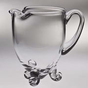 Majestic Crystal Classic Clear Footed Pitcher; 7.25'' H x 7.75'' W x 5.5'' D