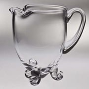 Majestic Crystal Classic Clear Pitcher; 9'' H x 9'' W x 6.25'' D
