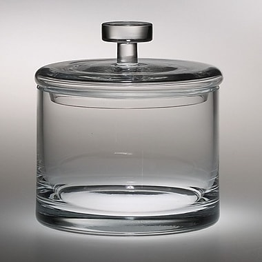 Majestic Crystal Classic Clear Kitchen Canister
