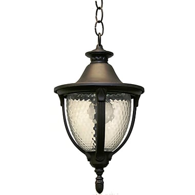 Melissa Tuscany 1-Light Outdoor Pendant; Architectural Bronze