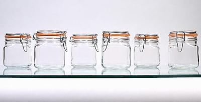 Global Amici Hermetic Storage Jars (Set of 6); 24 oz.