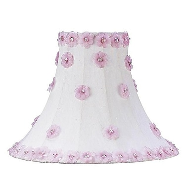 Jubilee Collection 10.25'' Silk Bell Lamp Shade