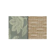 Pacific Table Linens Bouquet Reversible Placemat (Set of 2); Seaspray / Ivory