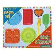 Sassafras 10 Piece The Little Cook Silicone Bakeware Set