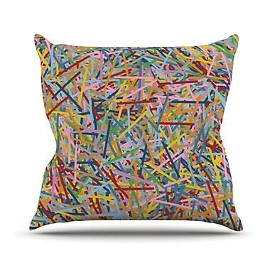 KESS InHouse More Sprinkles Throw Pillow; 26'' H x 26'' W