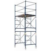 MetalTech 10' H x 60'' W x 84'' D Steel Contractor Tower Scaffolding